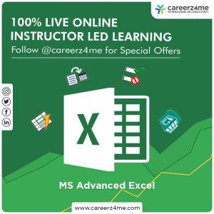 Microsoft Advanced Excel – 2010/2013/2016
