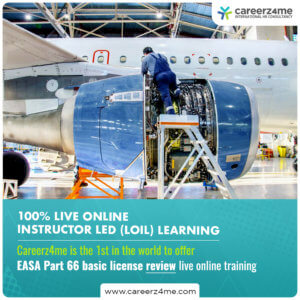 EASA Part 66 Cat A1 B1.1 or B2 COMPREHENSIVE PACKAGE (exams in DUBAI)