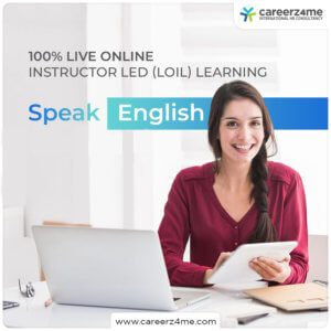 ENGLISH TRAINING COURSE