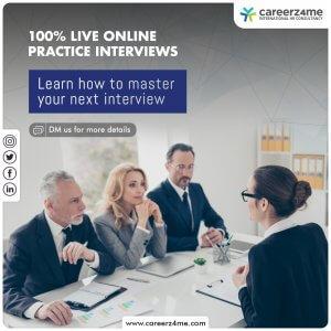Practice Interviews- Working Professionals